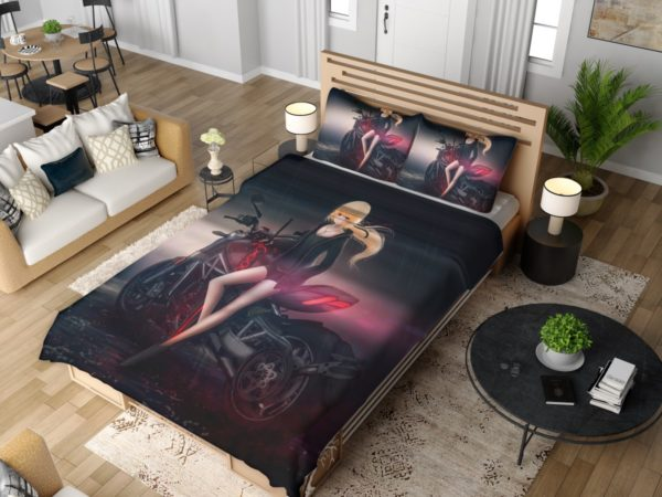 Saber Alter Anime Bedding Set 4