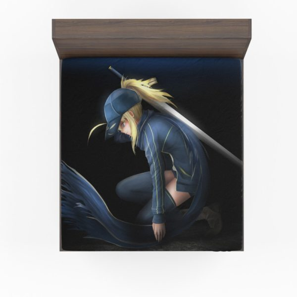 Saber Fate Grand Order Japanese Anime Fitted Sheet