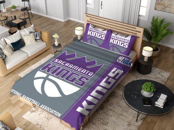 Sacramento Kings NBA Basketball Bedding Set 4