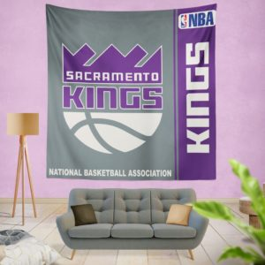 Sacramento Kings NBA Basketball Bedroom Wall Hanging Tapestry