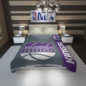 Sacramento Kings NBA Basketball Duvet Cover 1