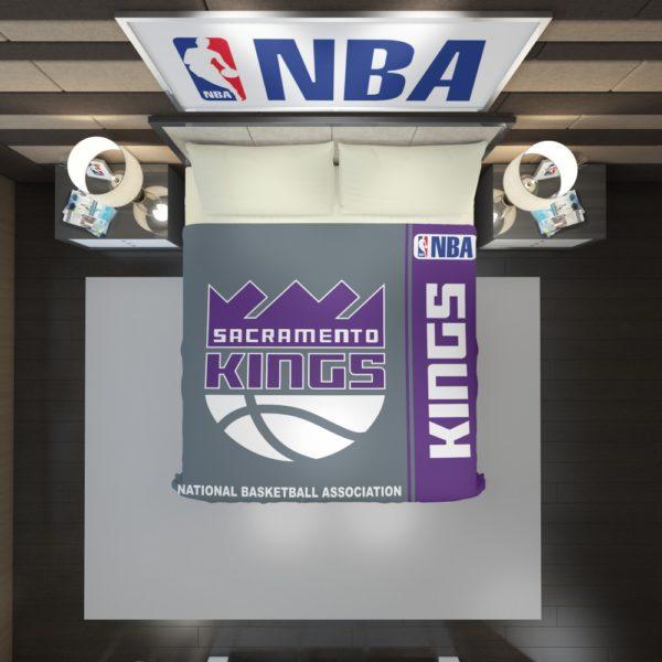 Sacramento Kings NBA Basketball Duvet Cover 2