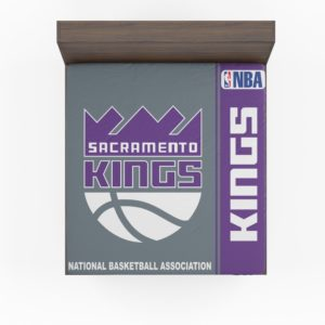 Sacramento Kings NBA Basketball Fitted Sheet