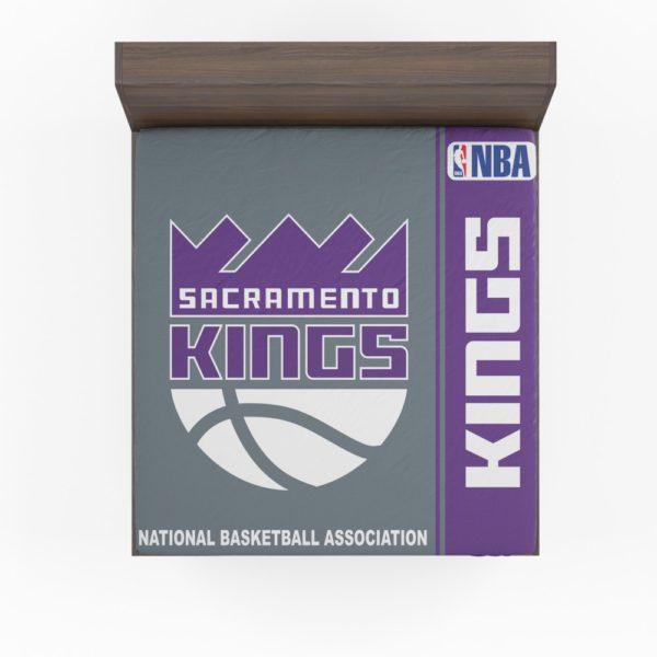 Sacramento Kings NBA Basketball Fitted Sheet