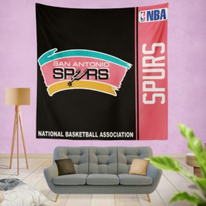 San Antonio Spurs NBA Basketball Bedroom Wall Hanging Tapestry