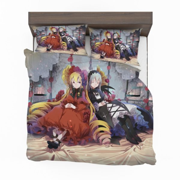 Shinku Suigintou Rozen Maiden Anime Girls Bedding Set 2