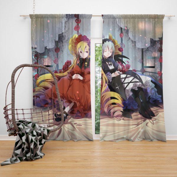 Shinku Suigintou Rozen Maiden Anime Girls Bedroom Window Curtain