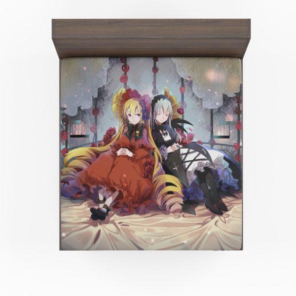 Shinku Suigintou Rozen Maiden Anime Girls Fitted Sheet