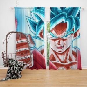 Son Goku Dragon Ball ANime Bedroom Window Curtain