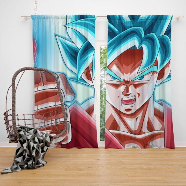 Son Goku Dragon Ball ANime Bedroom Window Curtain