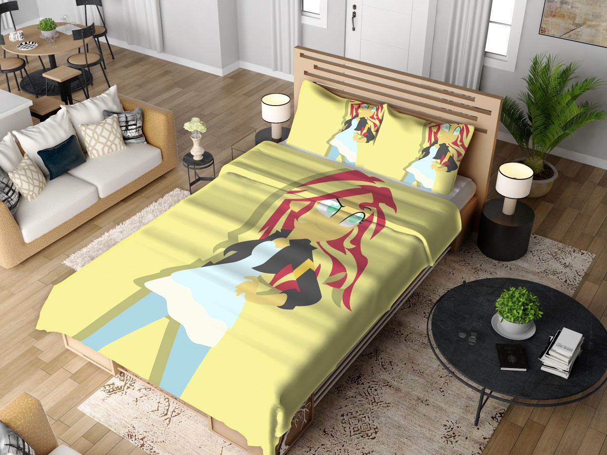 sunset shimmer my little pony friendship is magic bedding