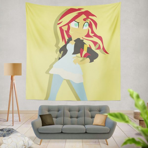 Sunset Shimmer My Little Pony Friendship Is Magic Wall Hanging Tapestry