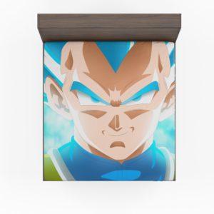 Super Saiyan Blue Vegeta Dragon Ball Super Fitted Sheet