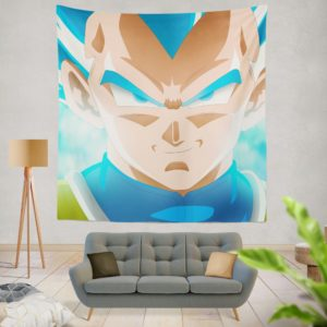Super Saiyan Blue Vegeta Dragon Ball Super Wall Hanging Tapestry