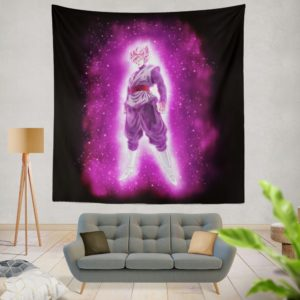 Super Saiyan Rose Goku Black Dragon Ball Super Wall Hanging Tapestry