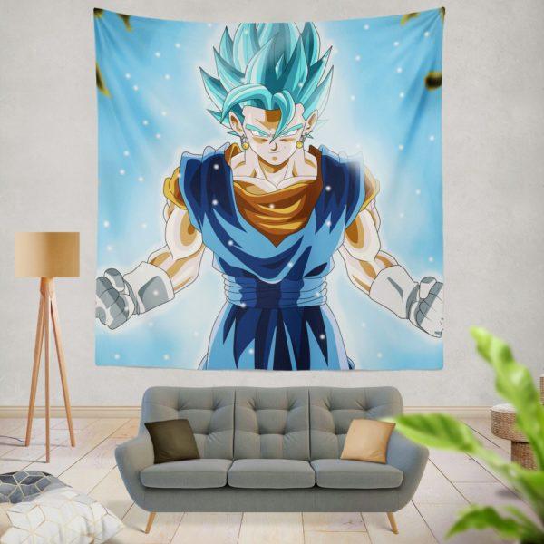 Super Saiyan Vegito Anime Boy Wall Hanging Tapestry