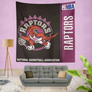 Toronto Raptors NBA Basketball Bedroom Wall Hanging Tapestry
