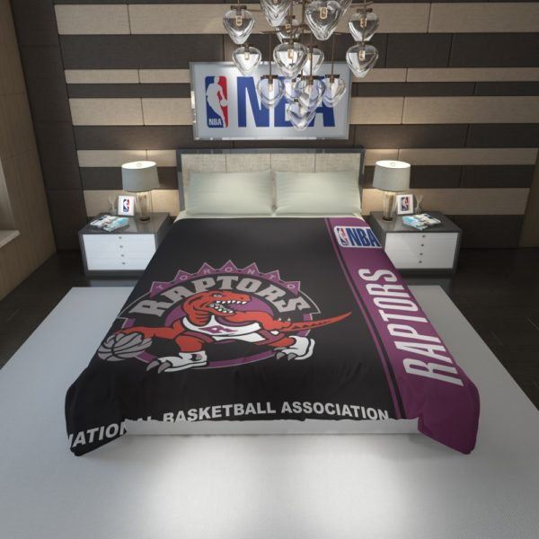 Toronto Raptors NBA Basketball Duvet Cover 1