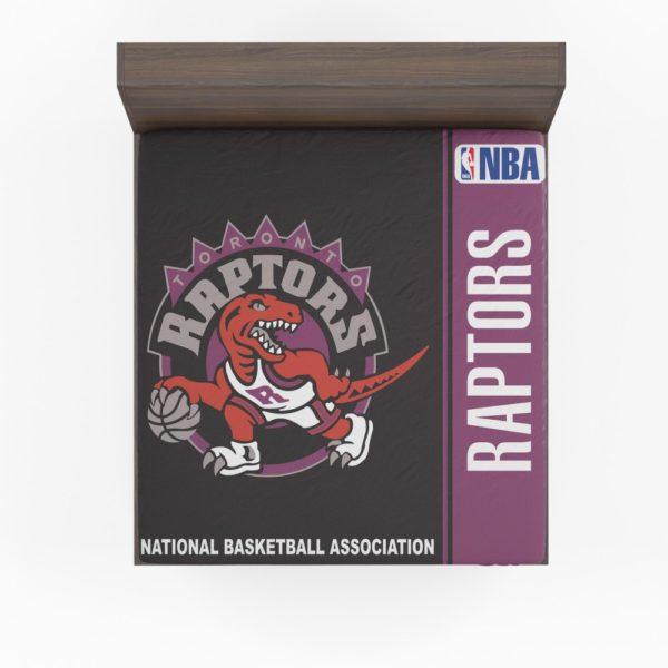 Toronto Raptors NBA Basketball Fitted Sheet