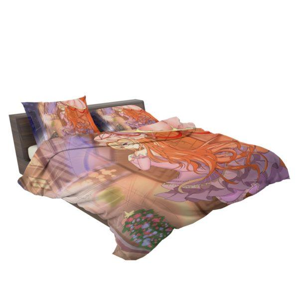 TouHou Japanese Anime Girl Bedding Set 3