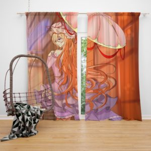 TouHou Japanese Anime Girl Bedroom Window Curtain
