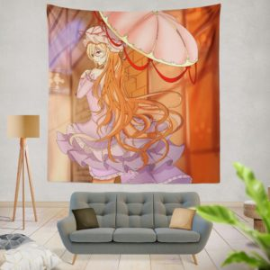 TouHou Japanese Anime Girl Wall Hanging Tapestry