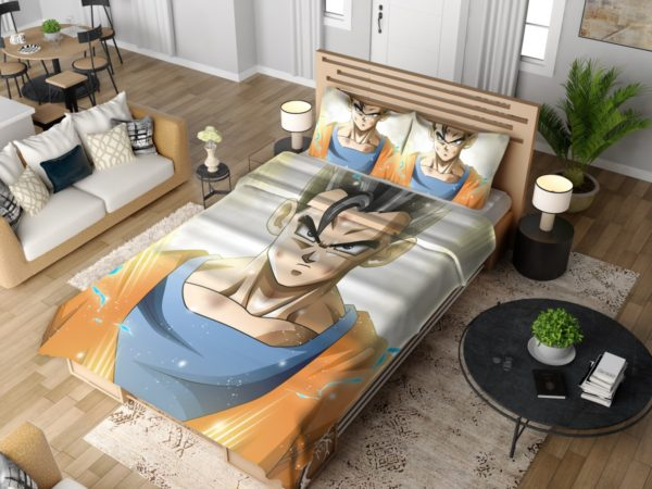 Ultimate Gohan Mystic Gohan Dragon Ball Super Bedding Set 4