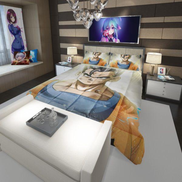 Ultimate Gohan Mystic Gohan Dragon Ball Super Comforter 3