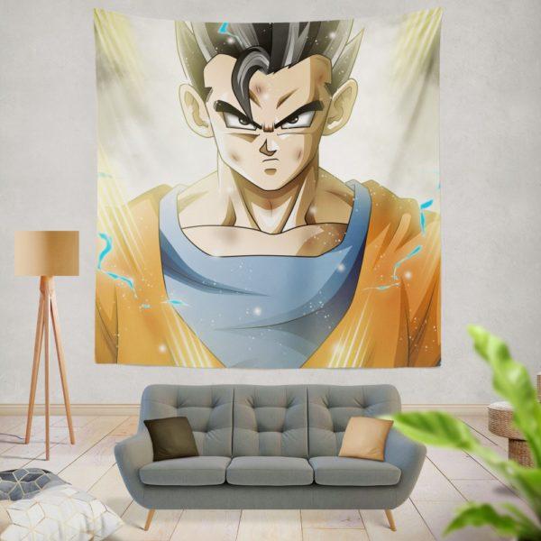Ultimate Gohan Mystic Gohan Dragon Ball Super Wall Hanging Tapestry