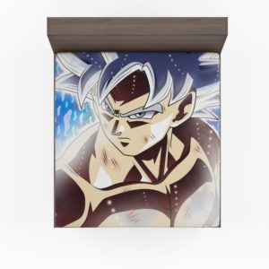 Ultra Instinct Goku Teen Fitted Sheet