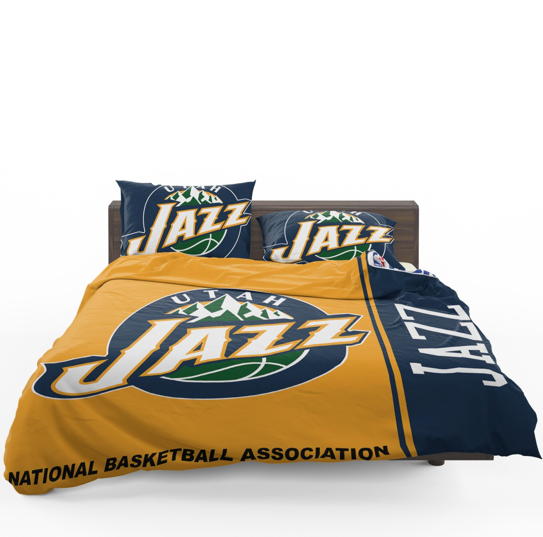 Utah Jazz NBA Basketball Bedding Set