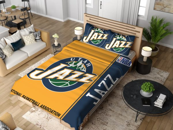 Utah Jazz NBA Basketball Bedding Set 4