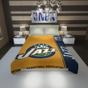 Utah Jazz NBA Basketball Duvet Cover 1