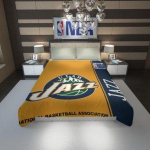 Utah Jazz NBA Basketball Duvet Cover 1