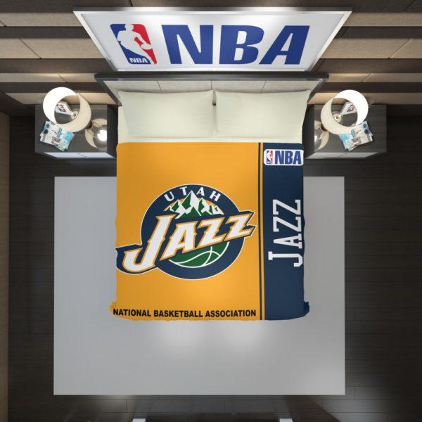 Utah Jazz NBA Basketball Duvet Cover 2