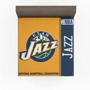 Utah Jazz NBA Basketball Fitted Sheet