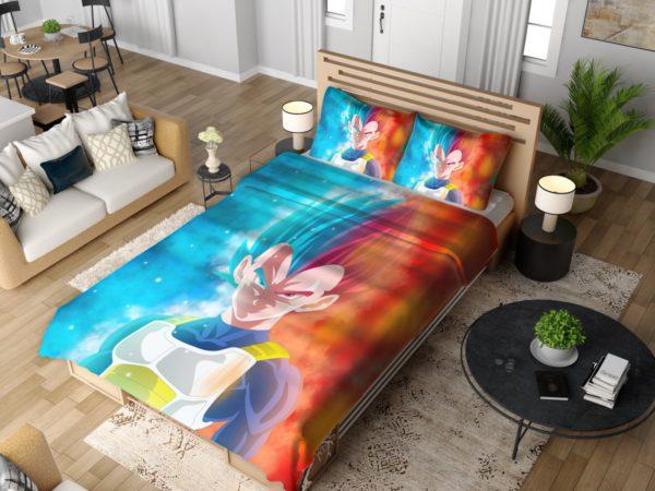 Vegeta Anime Boy Bedding Set 4