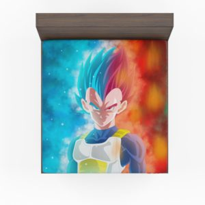 Vegeta Anime Boy Fitted Sheet
