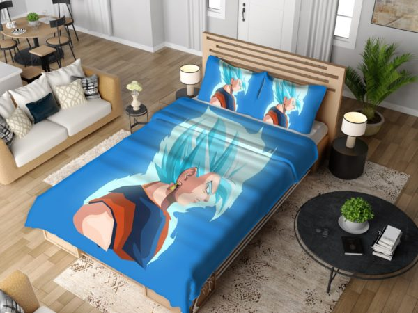 Vegeta Dragon Ball Minimal Design Bedding Set 4