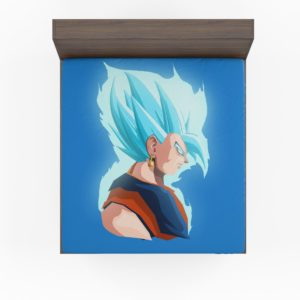 Vegeta Dragon Ball Minimal Design Fitted Sheet