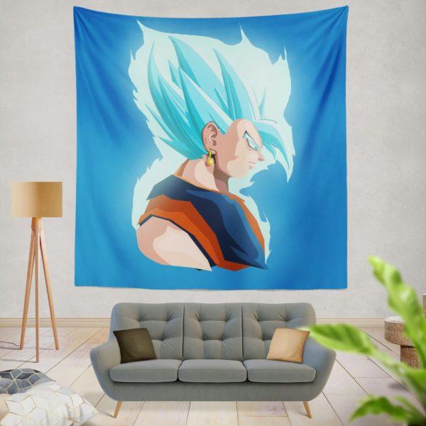 Vegeta Dragon Ball Minimal Design Wall Hanging Tapestry