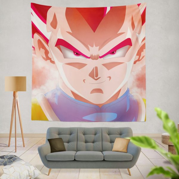 Vegeta Dragon Ball Super Anime Wall Hanging Tapestry