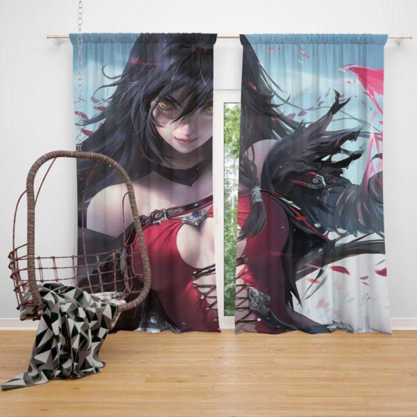 Velvet Crowe Hot Anime Girl Bedroom Window Curtain