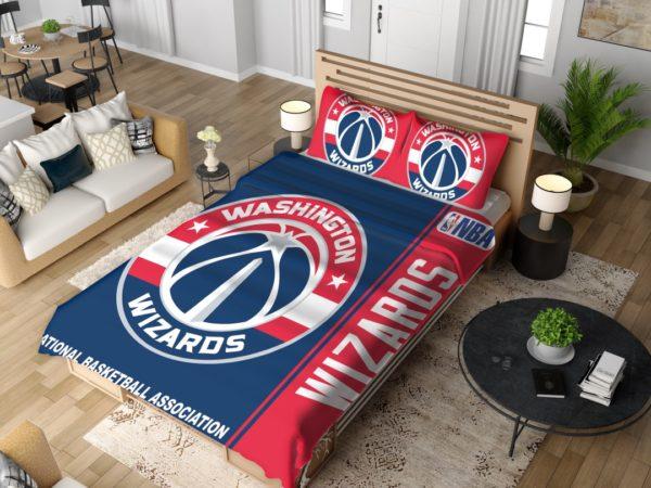 Washington Wizards NBA Basketball Bedding Set 4