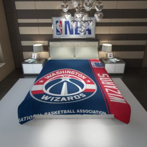 Washington Wizards NBA Basketball Duvet Cover 1