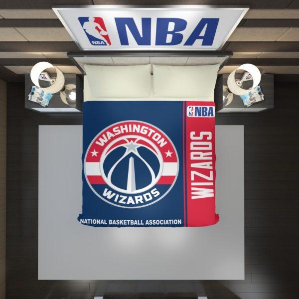 Washington Wizards NBA Basketball Duvet Cover 2