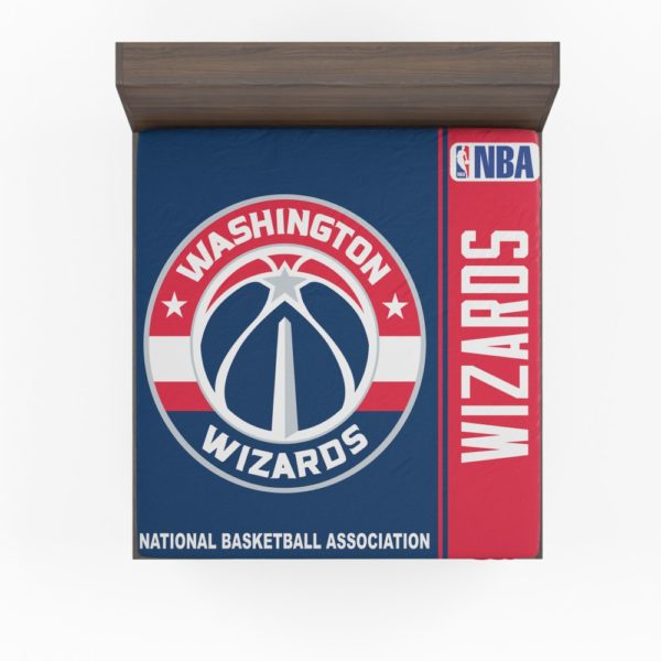 Washington Wizards NBA Basketball Fitted Sheet