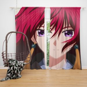 Yona Of The Dawn Anime Girl Bedroom Window Curtain