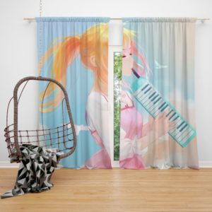 Your Lie In April Kaori Miyazono Bedroom Window Curtain