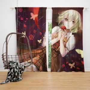 Yuuka Kazami Touhou Japanese Anime Girl Bedroom Window Curtain